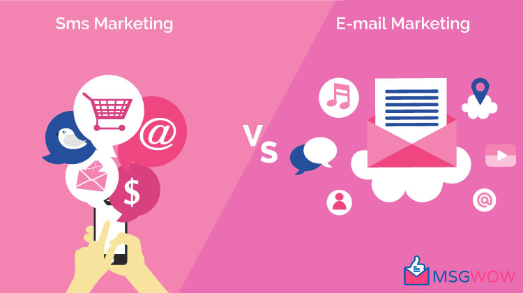 SMS Marketing vs. Email Marketing